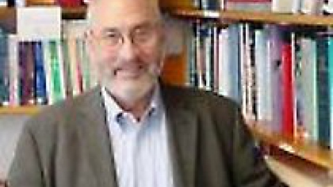 Economics Nobel laureate Joseph Stiglitz