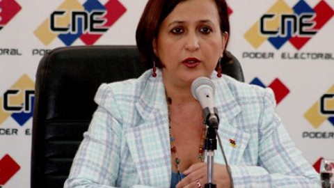 Electoral Council President Tibisay Lucena (Archive)