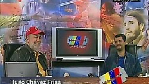 """The political commentary and satire show """"The Razorblade"""" on Venezuelan state TV."""