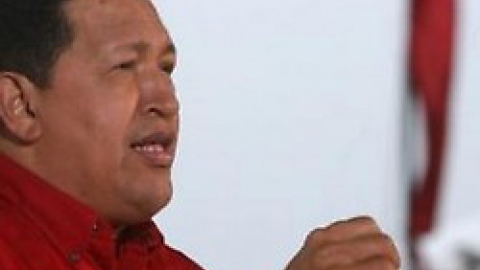 President Chavez speaking during his weekly television program Alo Presidente. (Prensa Presidencial)