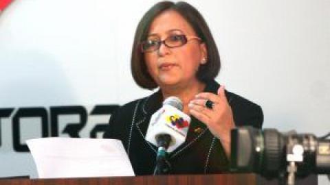 Electoral Council President Tibisay Lucena (ABN)