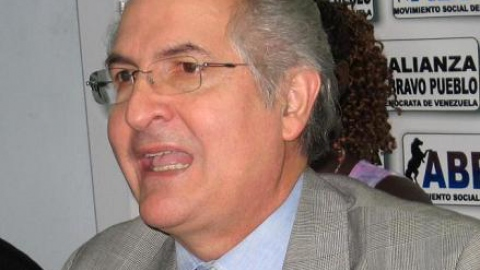 Antonio Ledezma, opposition mayor of Greater Caracas (Archive)