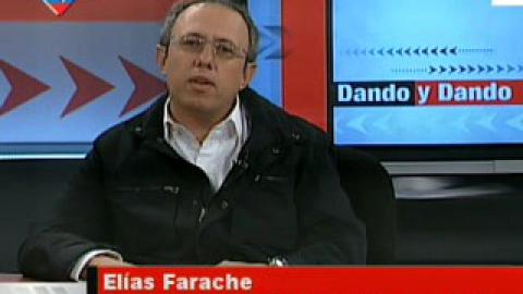 Elias Faranche, President of the Israeli Association in Venezuela (VTV)