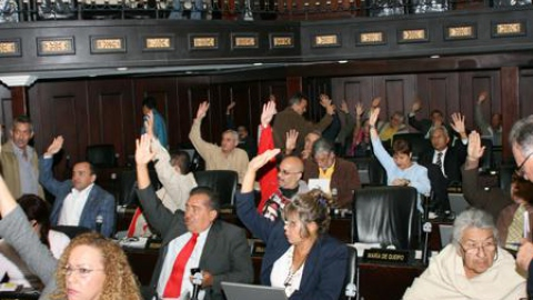 National Assembly deputies voted to pass the new electoral process law (ABN).