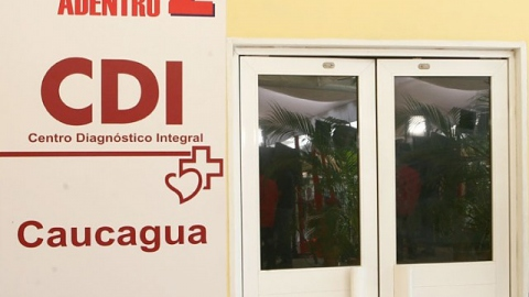 A new Integral Diagnostic Centre in Caucagua, inaugurated on Sunday (Simón Garcia)