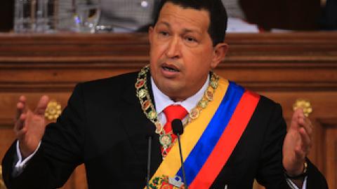 President Hugo Chavez addresses the National Assembly (Prensa Presidencial)
