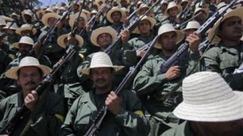 The new Peasant Militia in Venezuela (AP)