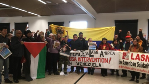 Venezuela solidarity meeting in Melbourne on July 29
