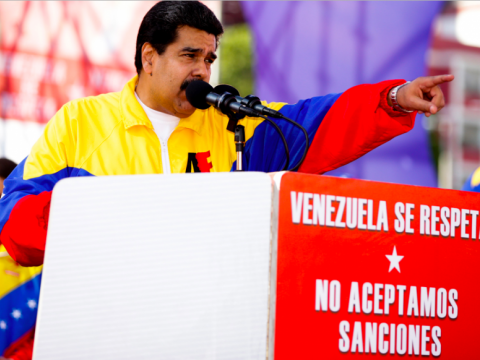 Maduro's government has been the subject of escalating international sanctions by Washington's allies