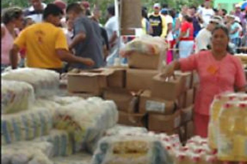 PDVAL food distribution point