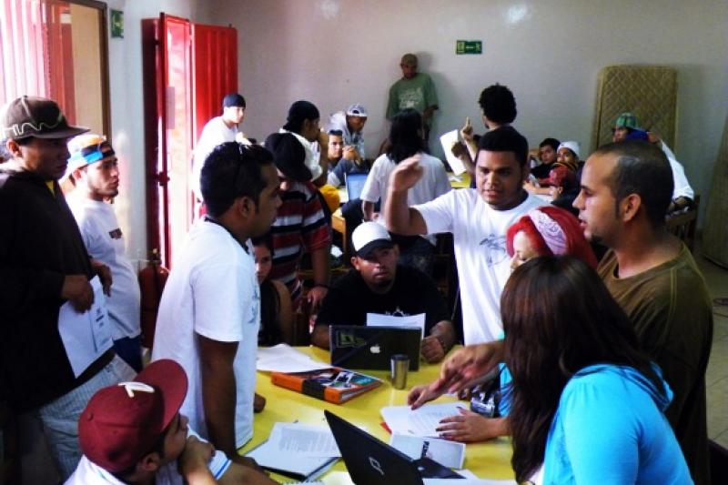 The hip-hop movement congress held in December in Merida, Venezuela (HHR)
