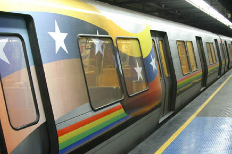 A recently renovated Caracas Metro station (YVKE)