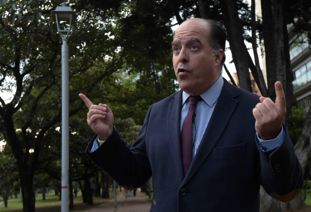 Julio Borges is a right wing leader and parliamentary deputy. (Raul Arboleda / AFP)