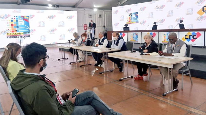 The International Observers Committee present report for 2020 Parlamentary Elections (AVN)