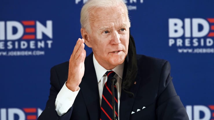 Joe Biden has persistently supported the Trump administration's effort to oust Venezuelan President Nicolas Maduro. (Jim Watson/ AFP/Getty Images)