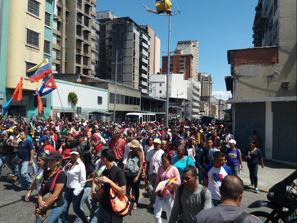 Anti-imperialist slogans were present throughout the march (Ricardo Vaz)