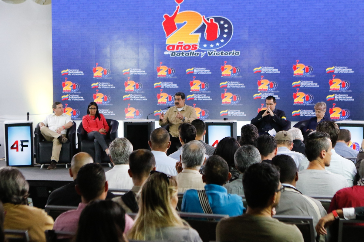 Maduro called for international solidarity on Monday (Presidential Press)