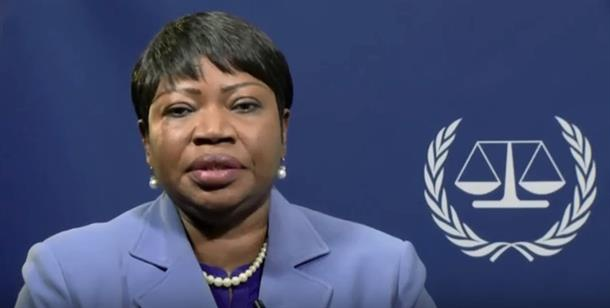 Gambian prosecutor Fatou Bensouda from the International Criminal Court (ICC)