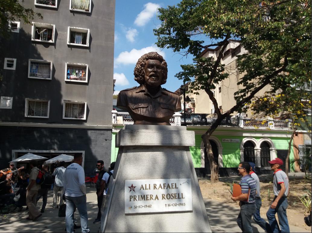 Bust of Ali Primera in Caracas (Ricardo Vaz)