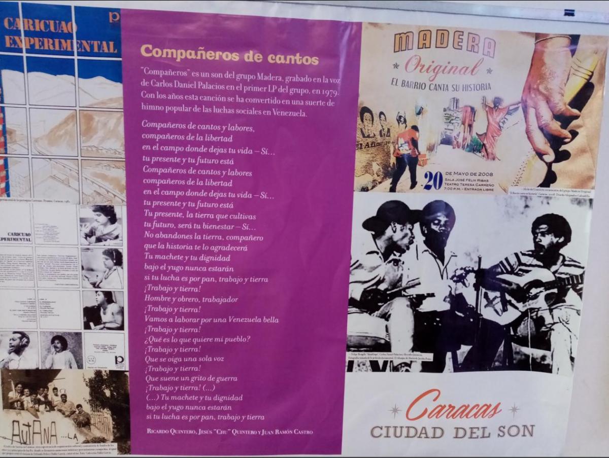 Grupo Madera is one of the main musical references of San Agustín. (Ricardo Vaz)