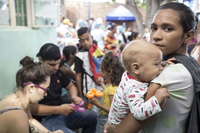 Venezuelan women have been hardest hit by the US sanctions regime. (Deivid Torrado / WFP)