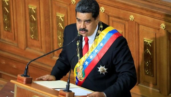 "Venezuelan President Nicolas Maduro's administration called Colombia's move ""a threat to regional peace and stability."" (Reuters)"