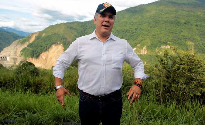 Ivan Duque has close personal ties to the United States, where he worked for 10 years as a banking consultant. (Reuters)