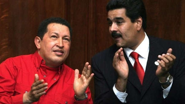Hugo Chavez and Nicolas Maduro differ greatly on their prioritising of public property. (AFP)