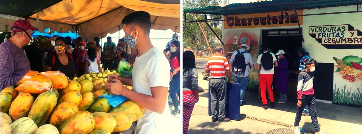 Food shopping, 23 de Enero, Caracas. (Javier Gomez/Venezuelanalysis)