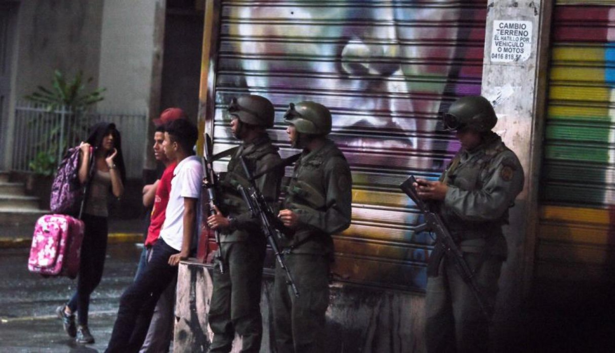 Security forces were quick to react and investigate the assassination attempt (AFP)