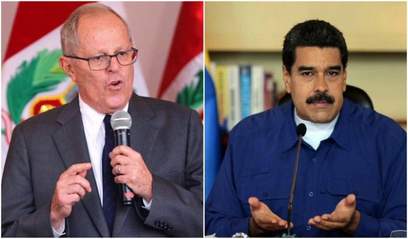 Venezuela says Peru's decision to ban Maduro from the Summit of the Americas is a violation of its obligations as summit host country. (Archive)