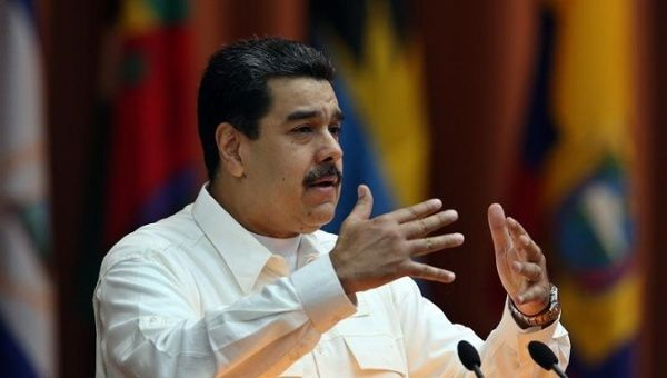 "President Nicolas Maduro, who has blamed the black-out on the U.S. government and Miami-based ""terror groups."" (EFE)"