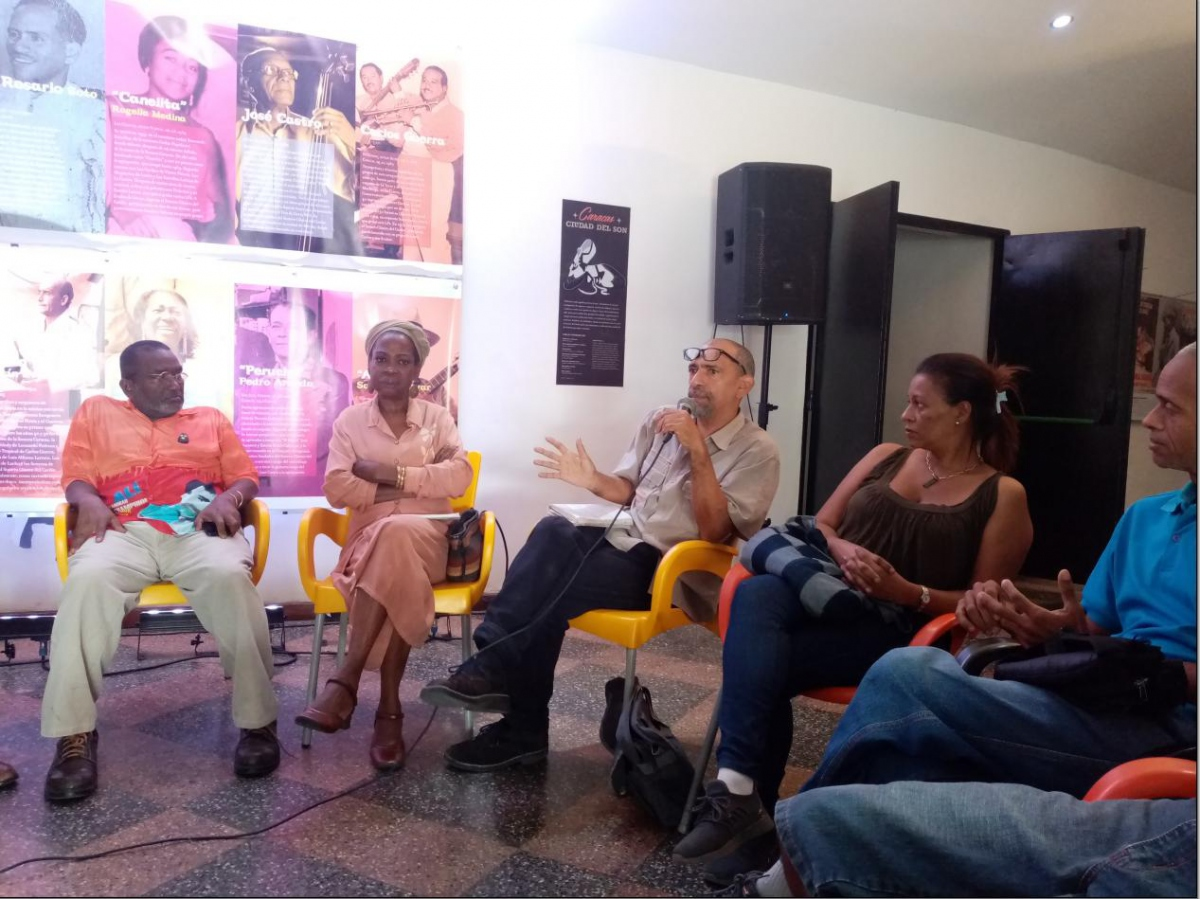 Friday saw a roundtable on the different musical influences that played a role in San Agustín's recent history. (Ricardo Vaz)