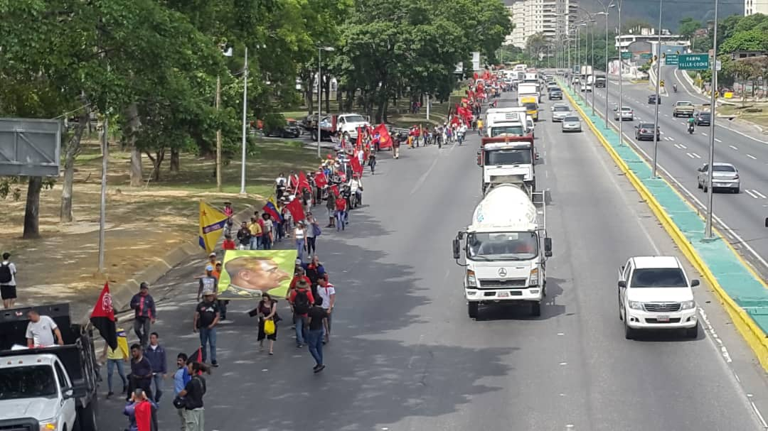 Upon arriving in Caracas, the Admirable Campesino March was welcomed and joined by diverse revolutionary movements.