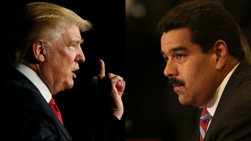 Trump has led efforts to economically isolate the Maduro government. (AFP)