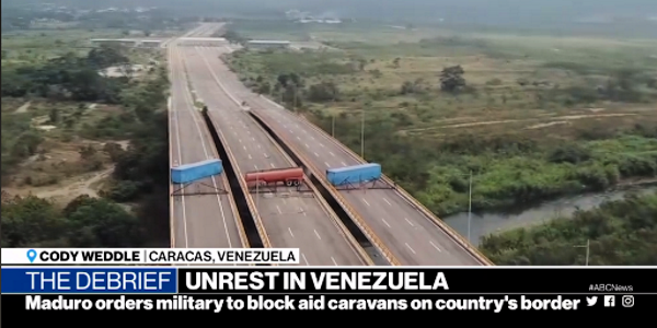 ABC coverage of the Venezuelan border has been misleading (ABC)
