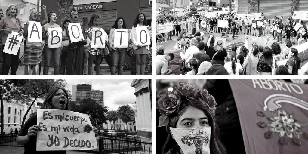 Venezuelan women struggle for the decriminalization of abortion. (Araña Feminista and Comadres Púrpura)