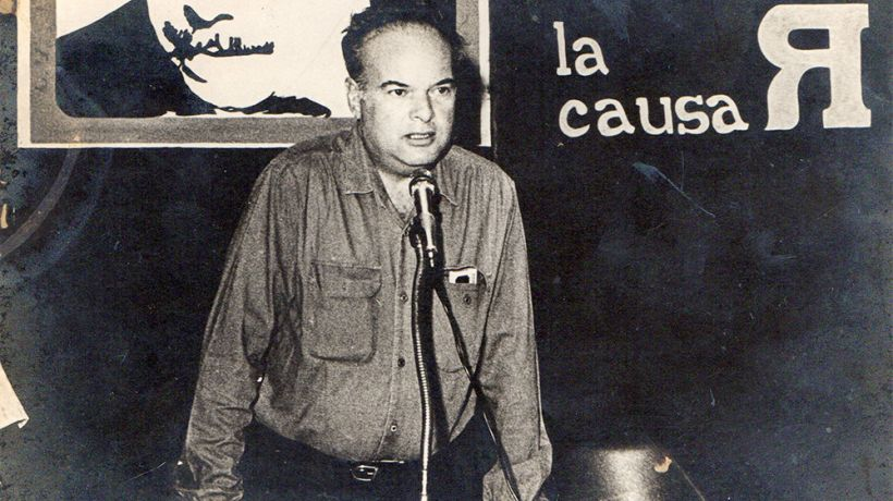 Alfredo Maneiro, the Causa R's leader and main ideologue. (Archive)