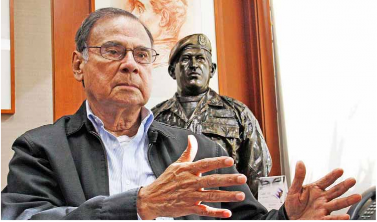 Ali Rodriguez served in a number of posts in the Bolivarian government. (Correo del Orinoco)