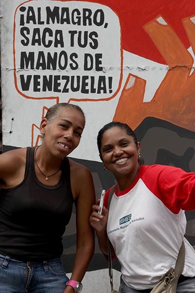 """""""Almagro get your hands out of Venezuela"""" (Credit:  Eduardo Viloria Daboín/CBRZ.org)"""