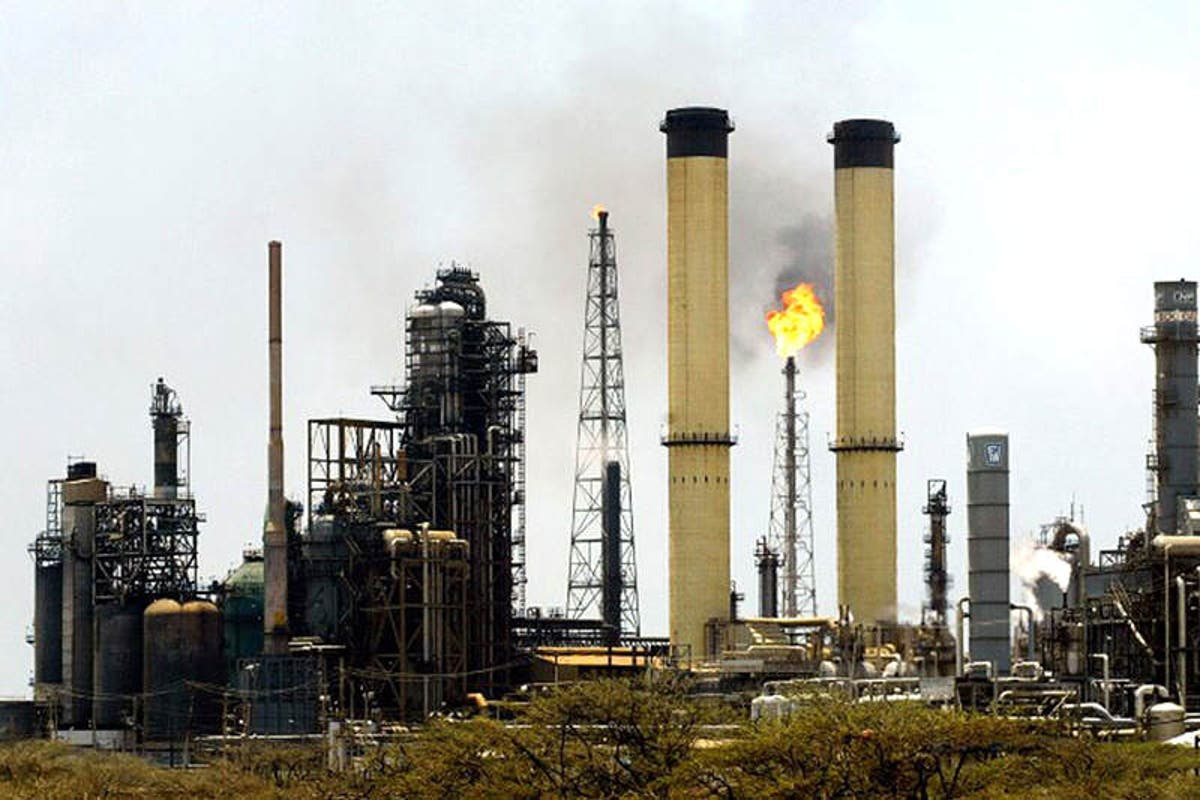 The Paraguana Refining Complex is the largest in the hemisphere. (Archive)