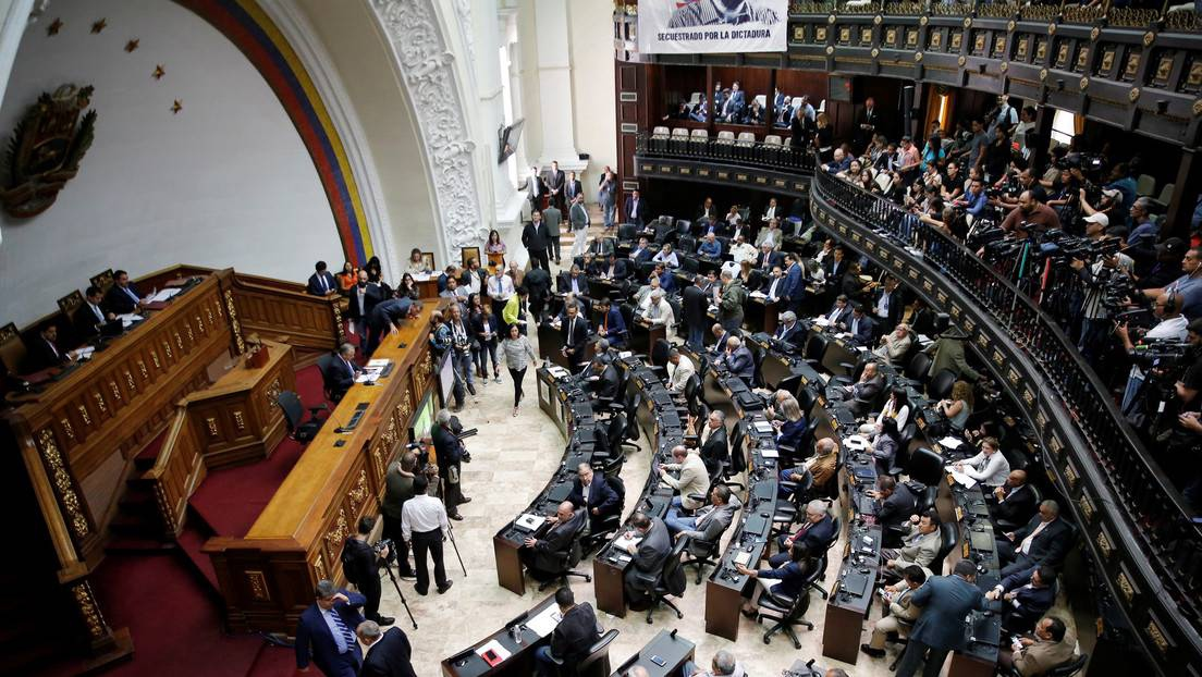 Juan Guaido has attempted to change the National Assembly's regulation to ensure his reelection. (Reuters)