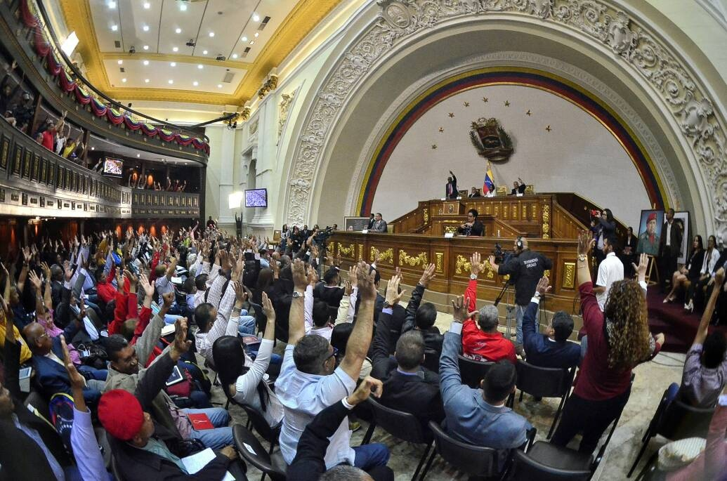 Venezuela's ANC approves the new law against hatred. (Archive)