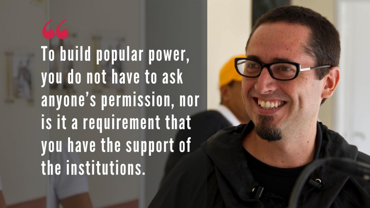 Antonio Gonzalez Plessmann, intellectual and human rights activist. (Venezuelanalysis)