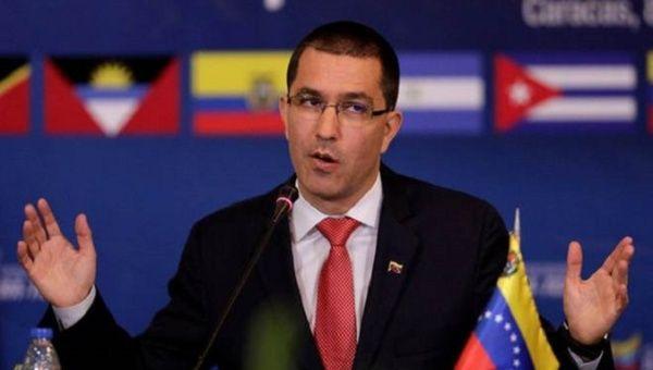 Venezuelan Foreign Minister Jorge Arreaza. (Reuters)