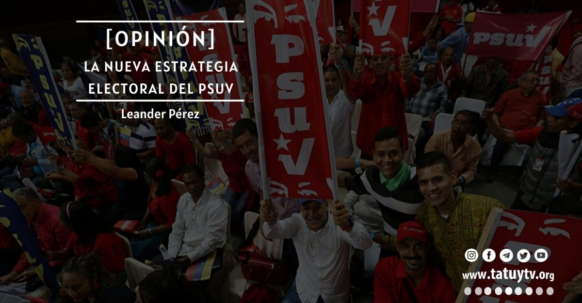 The PSUV's Novel Electoral Strategy by Leander Perez of TatuyTV. (TatuyTV)