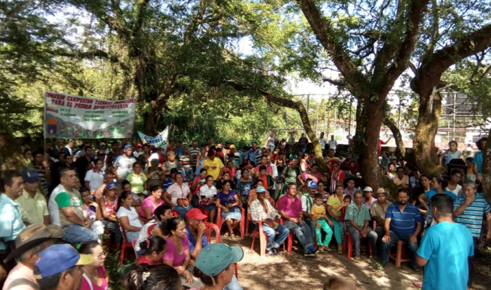 Popular assembly in rural Barinas state. (CRBZ)
