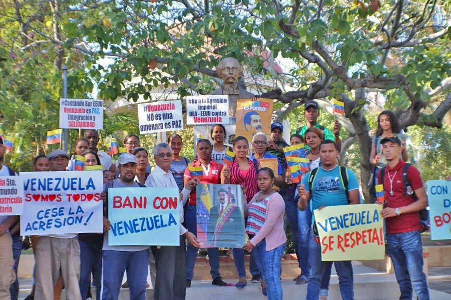 Dominican Republic: Activists In Baní Express Support For The Bolivarian Revolution