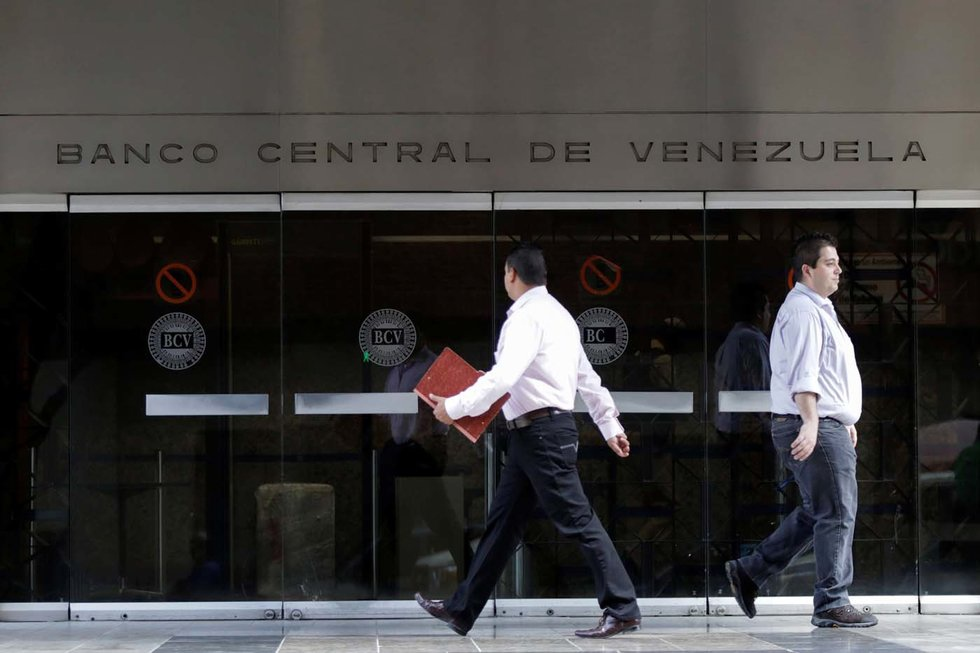 Venezuela's Central Bank has not published official data for some time. (Marco Bello / Reuters)