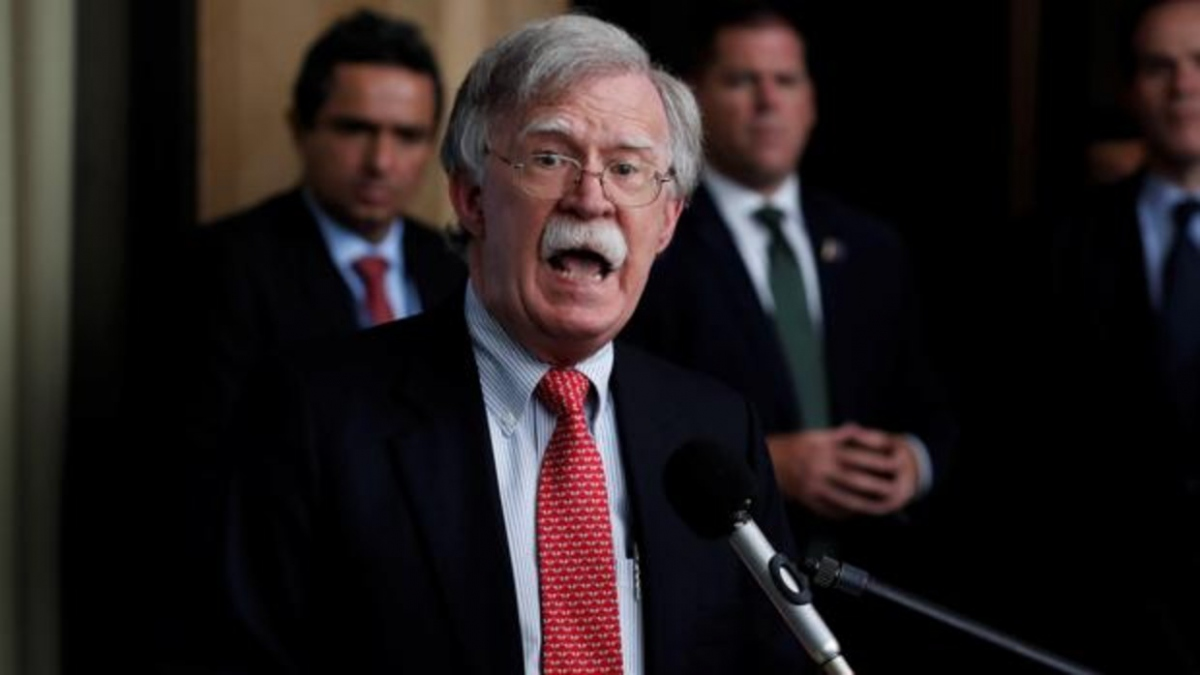 US National Security Advisor John Bolton warned companies against dealing with the Venezuelan government. (EFE)